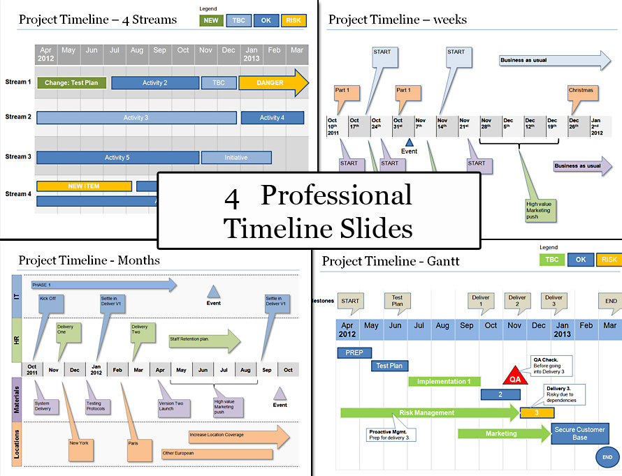 Project Plan Diagrams And Formats  See Real Life Business Templates