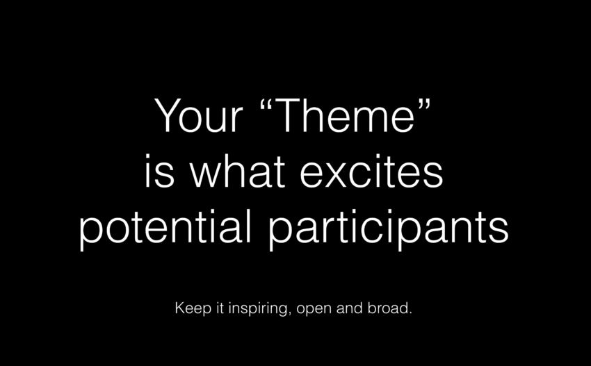 Excite your participants with your Hack Event Theme