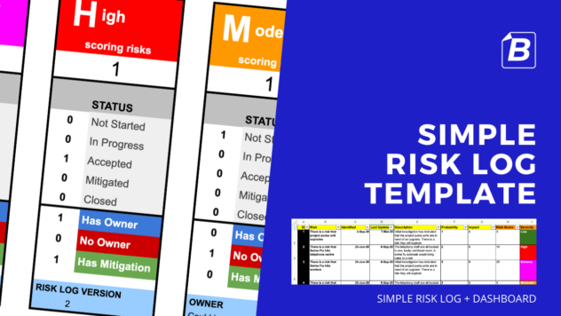 Simple Risk Log Template