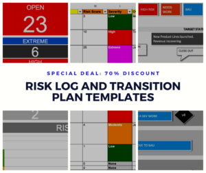 Risk Log and Transition Plan Template Deal
